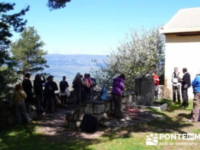 Ruta de Senderismo - Altos del Hontanar; pueblos sierra norte madrid